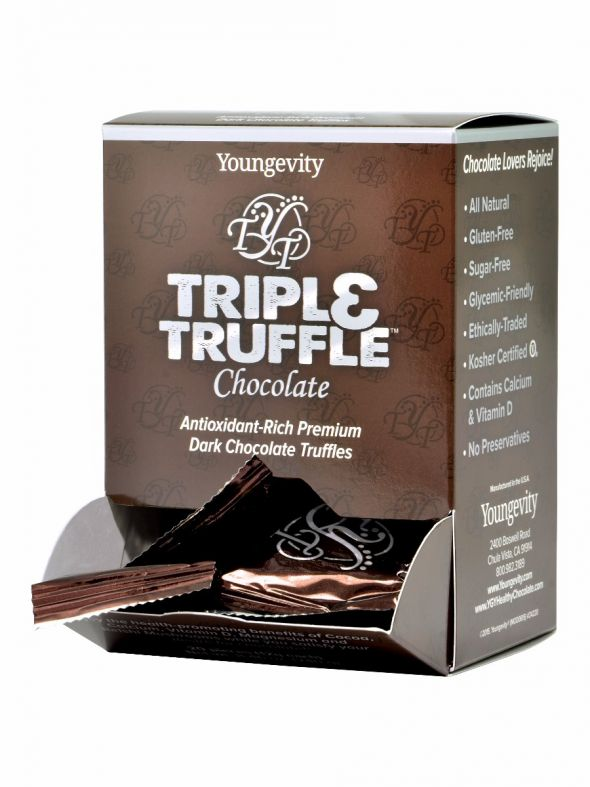 Triple Truffle Chocolate - 20 Count Box