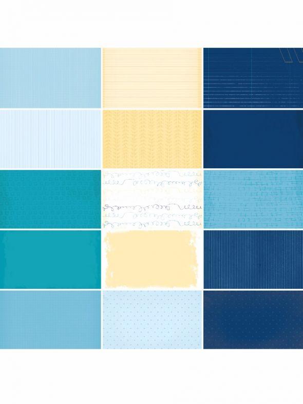 Blue Skies Designer Journal/Mounting Cards